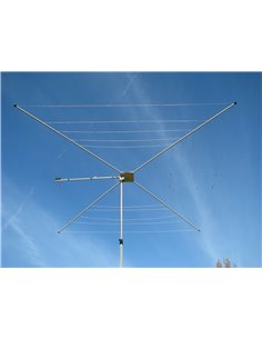 MFJ-1838 Cobweb antenna 7-50 MHz 1500 W