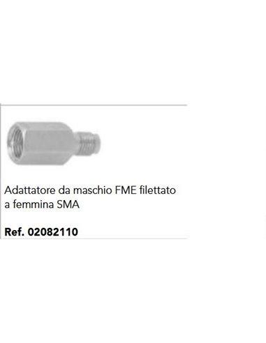ADATTATORE DA MASCHIO FME FILETTATO A FEMMINA SMA