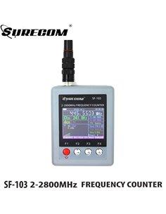 SURECOM SF-103 frequenzimetro portatile 2-2800 MHz DMR READY, CTCSS/DCS