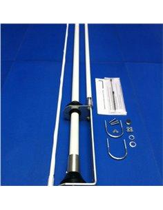 ECO ANTENNE SKIP MASTER 2011 - Antenna da stazione base 5/8 CB e 10 M 25-30 MHz