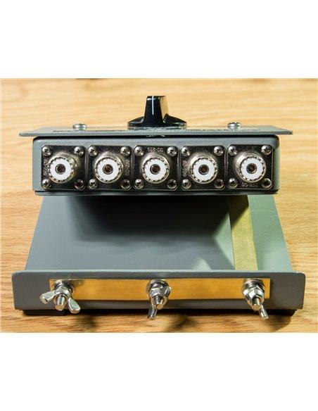 Alpha Delta ASC-4B-PL - Consolle Commutatore Coassiale a 4 vie 1500 Watt CW
