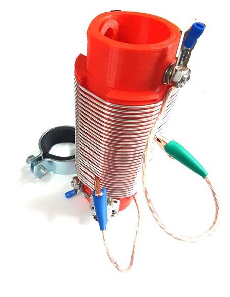 ECO ANTENNE - Bobina per auto-costruzione antenna 10-80 Metri CABLATA E PRONTA ALL'USO