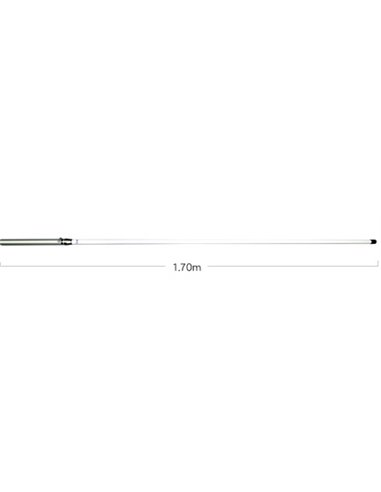 Diamond VX-50N antenna da base 144-430 MHz senza radiali
