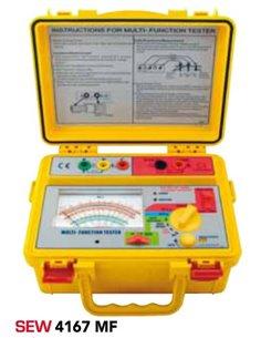 SEW4167MF - misuratore di isolamento di terra e di resistenza di terra