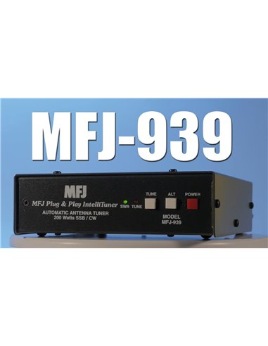MFJ-939K Accordatore automatico HF PLUG AND PLAY 200Watt con cavo Kenwood