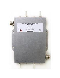 JG-BPF70CM Filtro passa banda a elica professionale per la banda dei 430 MHz