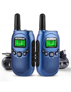 BAOFENG T6 - coppia RTX PMR 446 colore blu