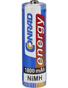 Batteria stilo AA ricaricabile 1800 mAh 1,2 V