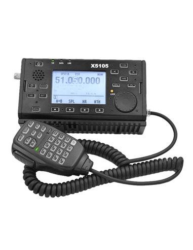 XIEGU X5105 - RTX QRP portatile 1-55 MHz 5 W con ATU e DSP