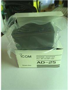 ICOM AD-25 - adattatore di ricarica per BP-131 BP-132