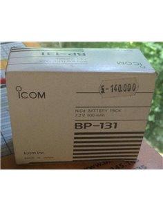 ICOM CM-3 pacco batteria per apparati icom 8.4V 270 mAh