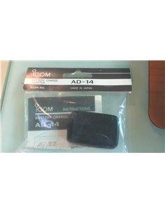 ICOM AD-14 adattatore per ricarica batterie BP-81 e similari