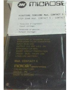 MICROSET CONTACT 5 riduttore di tensione da 26/35V a 13,8 V 5 A