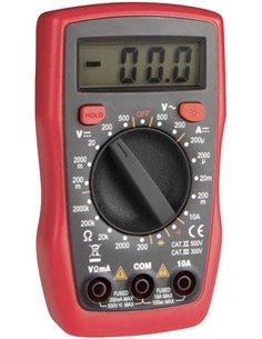 Velleman DVM841 Multimetro portatile digitale CAT II 500 V, CAT III 300 V