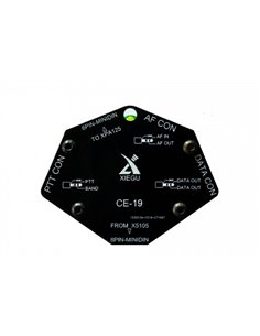 XIEGU CE-19 interfaccia CAT e controllo lineare XPA125