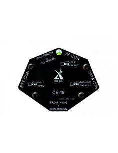 XIEGU CE-19 interfaccia CAT e controllo lineare XPA125