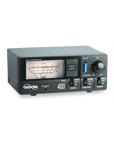 RW-400 HOXIN Rosmetro/Wattmetro 140-525 Mhz - 5-20-200-400 W