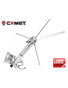 Comet GP-15N Antenna Tribanda 144/430/50 MHz Altezza 242 cm.