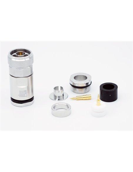HRS N10PRO - Connettore professionale N maschio per cavi 10,3 mm
