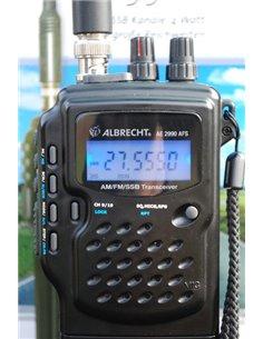 Albrecht AE 2990 RTX CB/10/11/12 metri portatile AM-FM-SSB omologato espandibile