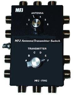 1700C MFJ - Doppio commutatore antenna e apparati