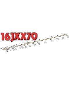 16JXX70 Antenna direttiva 430Mhz