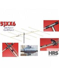 5JXX6 Antenna direttiva 50Mhz 5 elementi