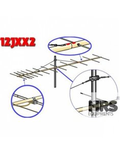 12JXX2 Antenna direttiva 144Mhz