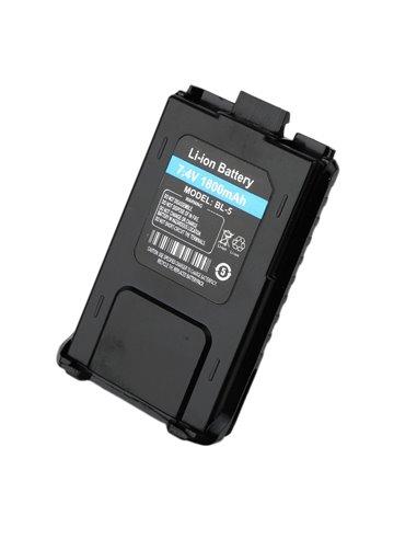 BF5 Batteria al lithio 1800 mAh Ricambio per Baofeng UV-5 UV-8 UV-9