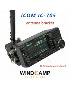Windcamp HRS RC-1 Staffa antenne a sgancio rapido per Icom IC-705