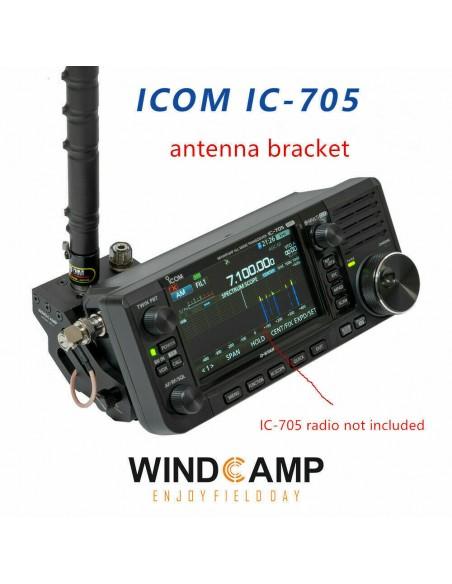 Windcamp HRS RC-1 Staffa antenne a sgancio rapido per Icom IC-705