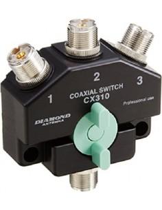 Diamond CX-310A Commutatore d'antenna 3 vie connettori SO239 (UHF)