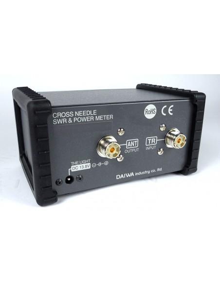 Daiwa CN-501H Rosmetro wattmetro 1.8-200 MHz