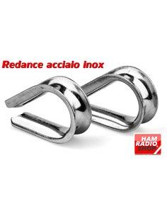N. 10 Redance in Acciaio Inox 6 mm per fili da 4 a 6 mm