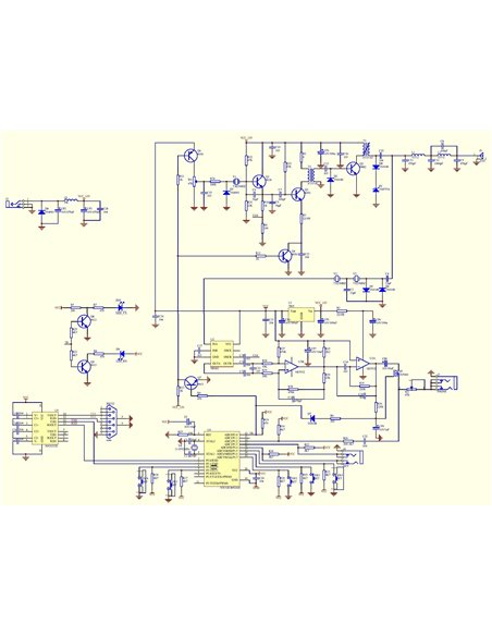 HRS Super RM Rock Mite Kit QRP,  ricetrasmettitore banda 40 metri 7.023 MHz