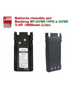 BF-HP2BATT - Batteria ricambio per Baofeng BF-UV9R+HP2 e per alcune versioni di UV82