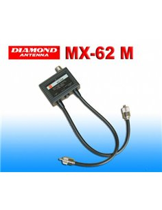 Diamond MX-62M - Duplexer 1.6-56 / 76-470 MHz