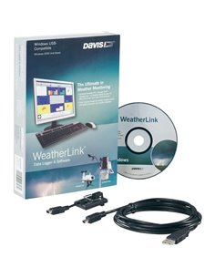 Davis Instruments Software DATALOGGER Weather Link USB