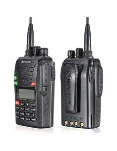 Wouxun KG-UV6D VHF 66-88/ UHF 400-480 MHz - Garanzia Italiana 24 mesi