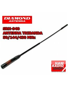 DIAMOND SRH-940 Antenna per portatili  tribanda 50-144-430 MHz