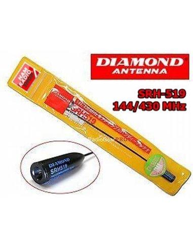 DIAMOND SRH-519 Antenna per portatili  banda 144-430 MHz CODA DI TOPO
