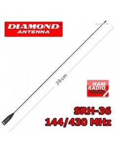 DIAMOND SRH-36 Antenna per portatili  banda 144-430 MHz CODA DI TOPO