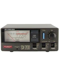 Diamond SX-200 - Rosmetro/Wattmetro 1.8-200 MHz - 5/20/200 Watt