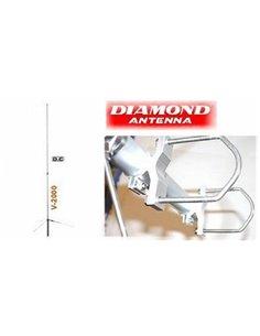 Diamond V-2000 Antenna Tribanda 50/144/430 MHz
