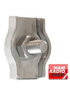 Morsetto simplex in acciaio inox diametro 3 mm ideali x tiranti e antenne filari