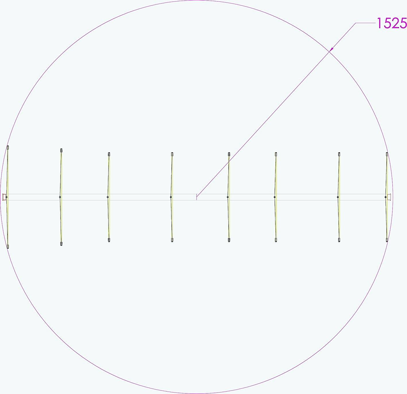 Status QUAD: 8 StQ 144, cubica 8 elementi 144 Mhz